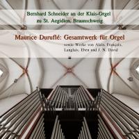 Duruflé - Gesamtwerk für Orgel